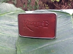 Silver Ranchero Belt Buckle
