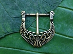 Celtic Brass Belt Buckle