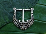 Celtic Silver Belt Buckle