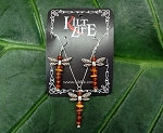 Silver Dragonfly Amber & Carnelian Set