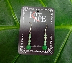 Emerald & Adventurine Earrings