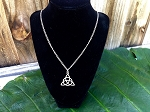 Celtic Trinity Knot Chain Necklace