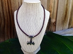 Myth Thor Hammer Braided Necklace