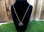 Celtic Knot Clover Necklace
