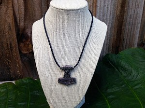 Thor Hammer Viking Goat Sage Owl Necklace