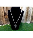 Celtic Knot Cross Exquisite Necklace